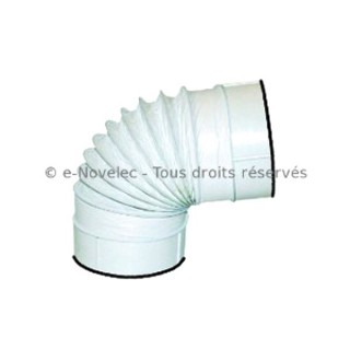 Tube circulaire souple à joints - TFCV [- conduits PVC de Ventilation - Unelvent]
