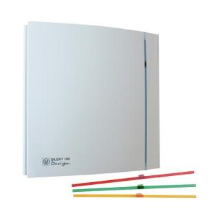 SILENT 200 DESIGN Blanc [- Aérateur axial silencieux - Ventilation mécanique ponctuelle - Unelvent]