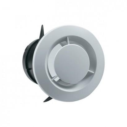 Bouche fixe d'extraction sanitaire Ø 80 ou 125 mm + manchon placo 3 griffes [- Bouches VMC - Vortice]