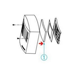 Filtres de rechange MONO (x5) [- Filtration VMC simple flux autoréglable - Aldes]
