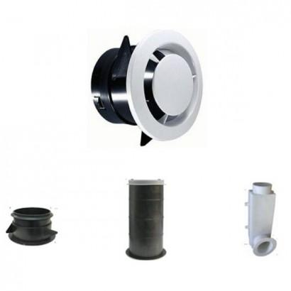 Bouche d'extraction - BOC - Ø 80 et 125 mm - BOCP - BOC - BOCC [- bouches VMC double-flux - Unelvent]