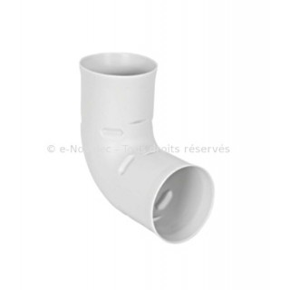 Coude 90° circulaire Optiflex - Ø 75 ou 90 mm [- Conduits Polyéthylène et accessoires VMC - Aldès]