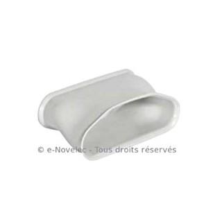 Connecteur de rotation ovale Optiflex [- Conduits Polyéthylène et accessoires VMC - Aldès]