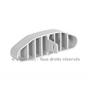 Régulateur de débit ovale - Optiflex [- Conduits Polyéthylène et accessoires VMC - Aldès]
