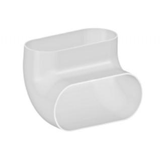 Coude vertical caisson PE - Optiflex [- Conduits Polyéthylène et accessoires VMC - Aldès]