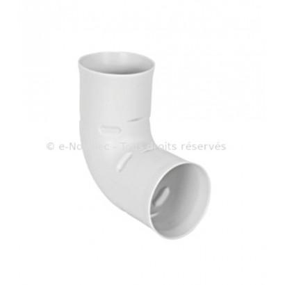 Coude 90° circulaire - Ø 75 ou 90 mm [- Réseau Polyéthylène PEHD VMC - Vortice / Fraenkische]