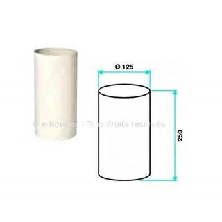 Rallonge circulaire Ø 125 mm [- Accessoires Réseau PEHD - Aldès]
