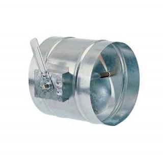 Registre d'équilibrage manuel galva - RR - Ø 125 à 630 mm [- Registres galvanisés VMC - Atlantic]