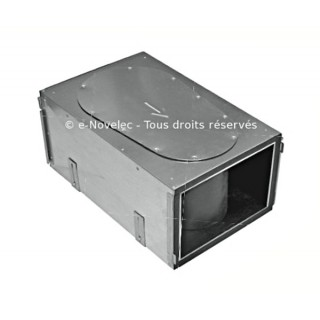 Caisson silencieux de répartition 6 piquages - ComfoWell 320 [- sans plaques de raccordement - Réseau PEHD ComfoTube - Zehnder]