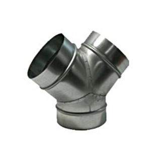 Culotte à 45° - Ø 180 mm [- Pour conduits VMC en Polypropylène - Zehnder]