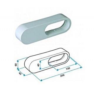 Réduction MINIGAINE équivalent Ø 125 à 80 mm [- conduits rigides plastique pour ventilation - ALDES]