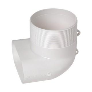 Coude mixte MINIGAINE pour bouche Ø 80 mm [- conduits rigides plastique pour ventilation - ALDES]