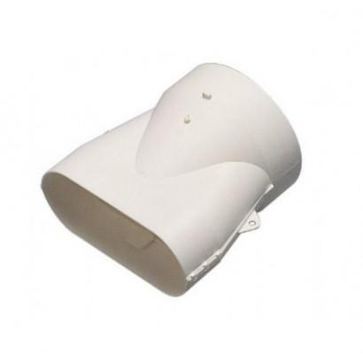 Raccord mixte droit MINIGAINE pour conduits Ø 80 et 125 mm [- conduits rigides plastique pour ventilation - ALDES]
