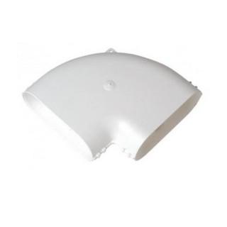 Coude horizontal 90° MINIGAINE équivalent Ø 80 et 125 mm [- conduits rigides plastique pour ventilation - ALDES]