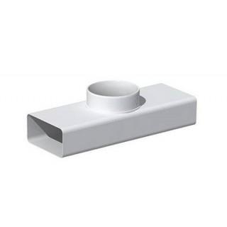Té pour conduit - TER [- conduits PVC de Ventilation - Unelvent]