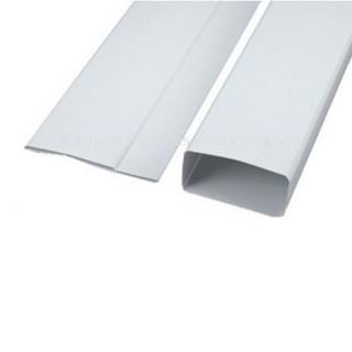 Tube rectangulaire pliant - TPL - Longueur 1,5 m [- conduits PVC de Ventilation - Unelvent]