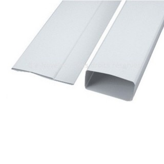 Tube rectangulaire plat - longueur 1,50 m [- conduits PVC de Ventilation - Atlantic]
