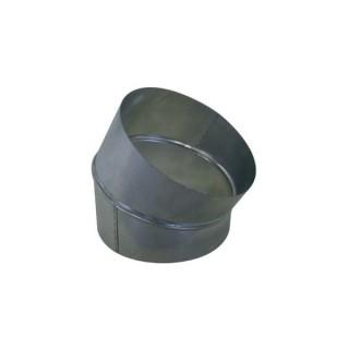 Coude galva 30° - Ø 80 à 1000 mm [- accessoires galvanisés VMC - Aldès / Atlantic]