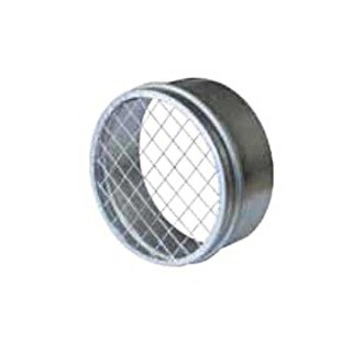 Couvercle Male Grillagé - Ø 100 à 710 mm [- accessoires galvanisés VMC - Atlantic]
