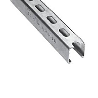 Rail de montage longueur 2 m [- Support conduits galvanisés VMC - Aldès]
