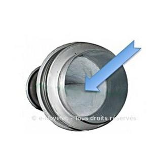 Filtre de rechange pour unité filtrante Ø 150 ou 160 [- Filtration Ventilation - Aldes]