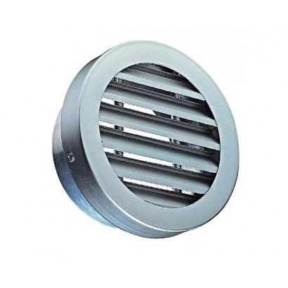 Grille série AR 637 Aluminium - Ø 125 à 315 mm [- Sortie d'air murale VMC - Aldes]