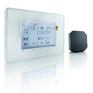 Programmateur radio Fil pilote + 1 récepteur [- Thermostat - Somfy]