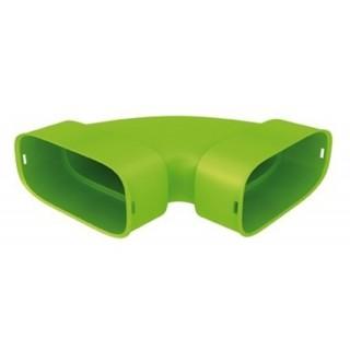 Coude horizontal polyéthylène - XCH [- Conduits et accessoires VMC en PE - Réseau Clip & Go - Atlantic]