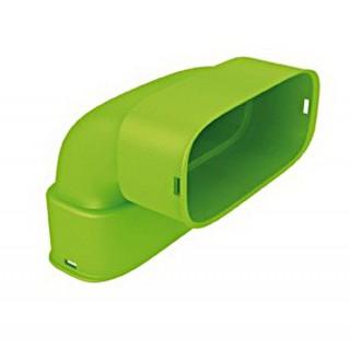 Coude vertical polyéthylène - XCV [- Conduits et accessoires VMC en PE - Réseau Clip & Go - Atlantic]