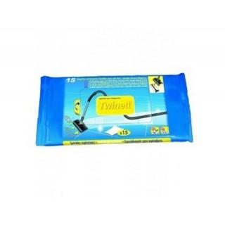 Paquet de 15 lingettes Twinett [- Consommables Aspiration Centralisée - Aldès]