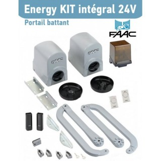 ENERGY KIT INTEGRAL 24 V - FAAC 391[ - Automatisme portails à battants - FAAC]