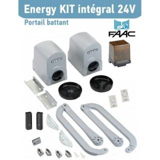 ENERGY KIT INTEGRAL 24V (FAAC 391) [ - Automatisme portails à battants - 104575144 - FAAC]