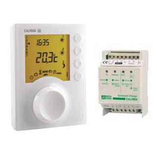 CALYBOX 320 et 320 WT [- Gestionnaire d'énergie Domotique pour PAC ou PRE - 2 zones - Delta Dore]