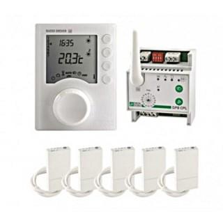 Pack Radio CPL 620 [- Gestionnaire d'énergie Radio et Courant Porteur - 2 zones - Delta Dore]