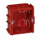 Boîte monoposte - pour maçonnerie - 1 poste [- pour produit Art Collection 80 x 80 mm - Arnould]