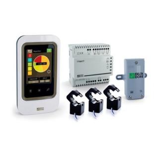 TYWATT 2000 [- Indicateur de consommation d'énergie avec écran tactile - Ecran tactile + gestion des occultants - Delta Dore]