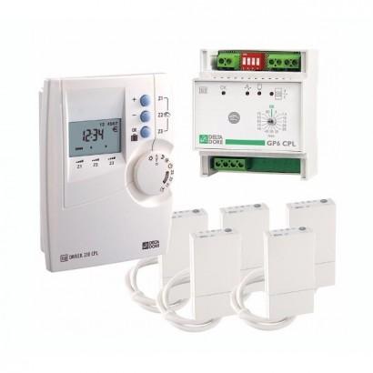 Pack CPL 620 [- Gestionnaire d'énergie Courant Porteur - 2 zones - Delta Dore]