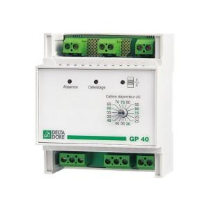 GP 40 [- Délesteur pour chauffage électrique Fil pilote ou via contacteurs - Delta Dore]