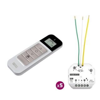 Pack TYXIA 545 [- Pack Micromodules Volets Roulants - Commande centralisée sans fil avec retour d'information - Delta Dore]