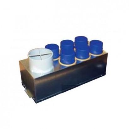 Plénum isolé d'extraction 7 piquages pour Ideo 325 [- Répartiteur VMC - Unelvent]
