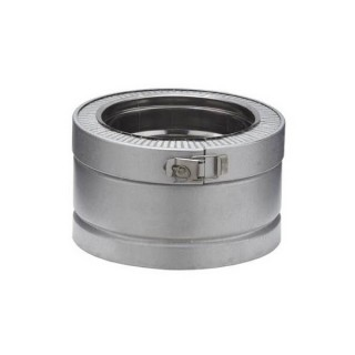 Elément droit 10 cm Therminox ZI - ED 100 [- conduits isolés intérieurs - Poujoulat]