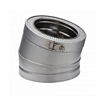 Coude 15° Therminox ZI - EC 15 [- conduits isolés intérieurs - Poujoulat]