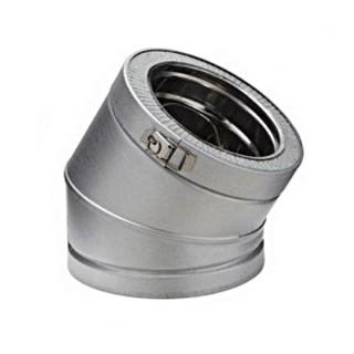 Coude 30° Therminox ZI - EC 30 [- conduits isolés intérieurs - Poujoulat]