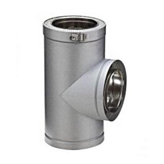 Té isolé 90° Therminox ZI - T 90 [- conduits isolés intérieurs - Poujoulat]