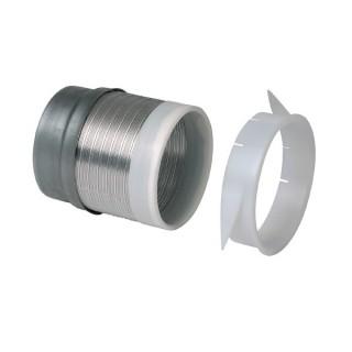 Liaison flexible étanche - Ø 125 mm [- RT Flex - accessoire conduits VMC - Aldès]