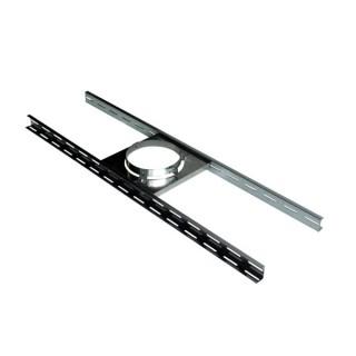 Support plancher Therminox TZ - SP [- conduits isolés intérieurs - Poujoulat]