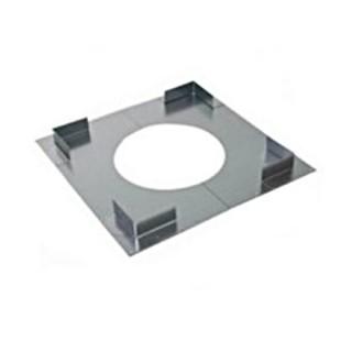 Plaque distance sécurité non ventilée Therminox TZ - PDSNV [- conduits isolés intérieurs - Poujoulat]