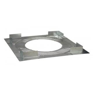 Plaque distance sécurité ventilée Therminox TZ - PDS [- conduits isolés intérieurs - Poujoulat]