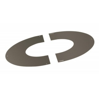 Plaque de propreté Inox Therminox TZ - PP(I) [- conduits isolés intérieurs - Poujoulat]