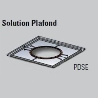 Plaque distance sécurité étanche (plafond) Therminox - TZ - PDSE [- conduits isolés intérieurs - Poujoulat]